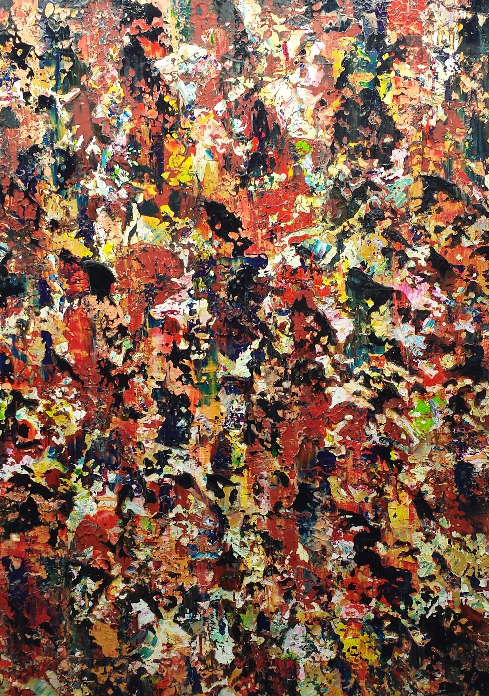 50x70 cm - sold