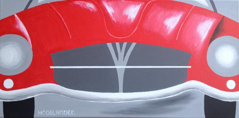 Roadtrip 30x60 cm acryl