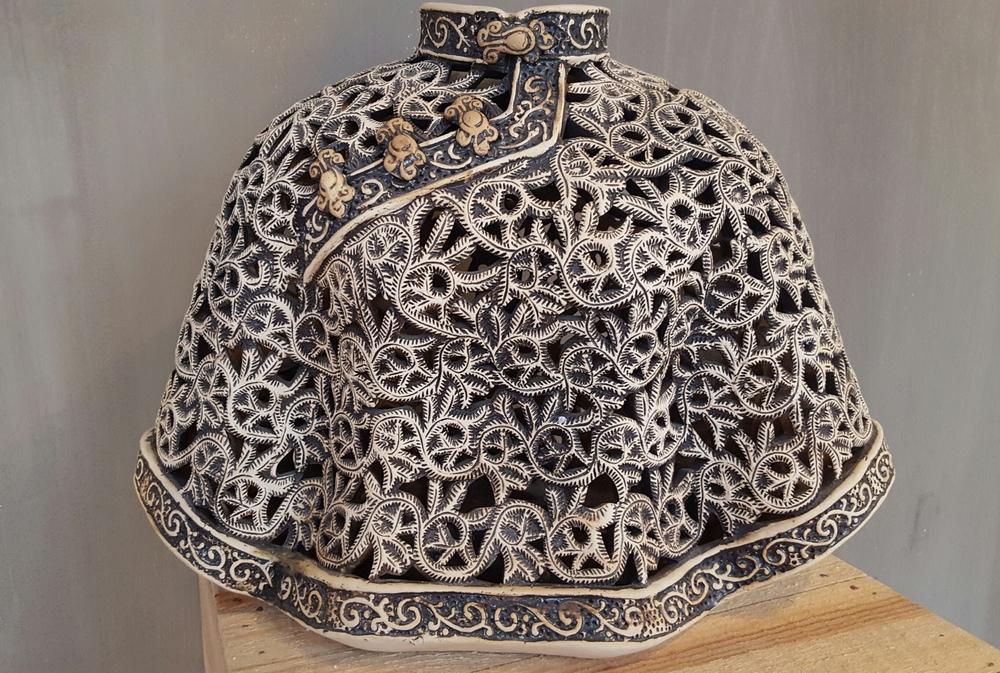 Bijzonder mooi keramiek uit Zuid China. SOLD