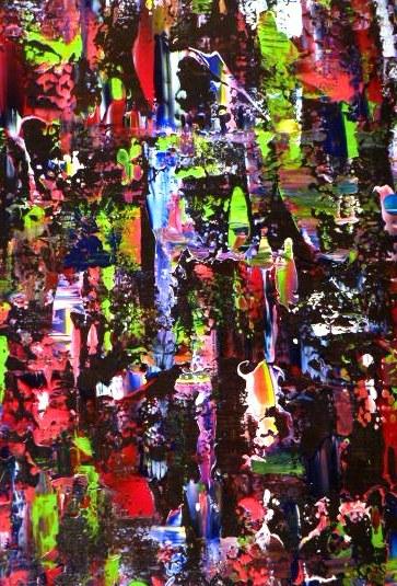 Africa - 1m x 80 cm - 575 euro hangt in de galerie