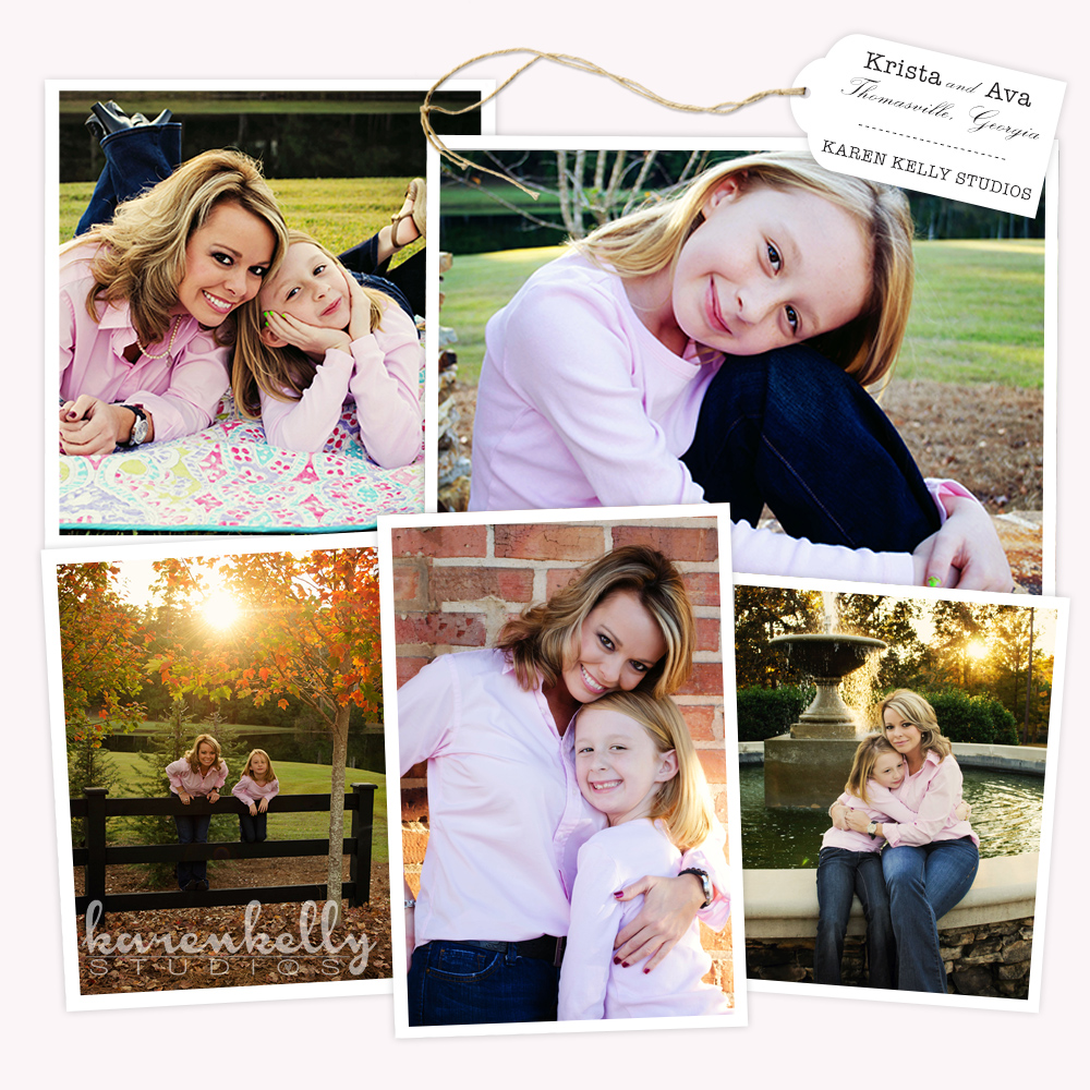 Krista & Ava, Family Portraits