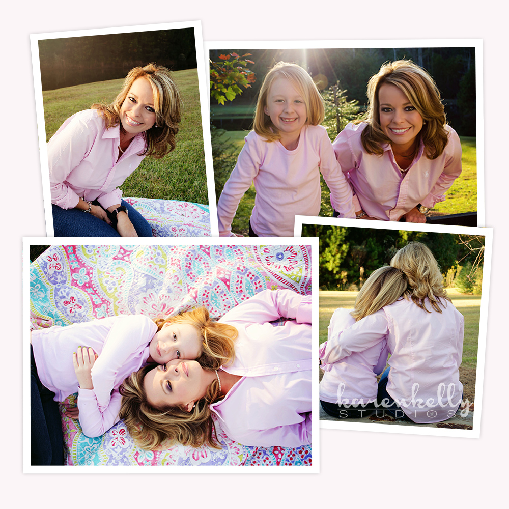 Krista & Ava, Mother Daughter Portraits 2012