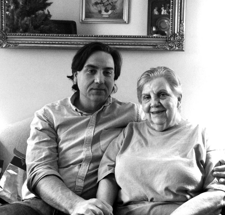 Chris Vaughan and his Mother, Marie Richards