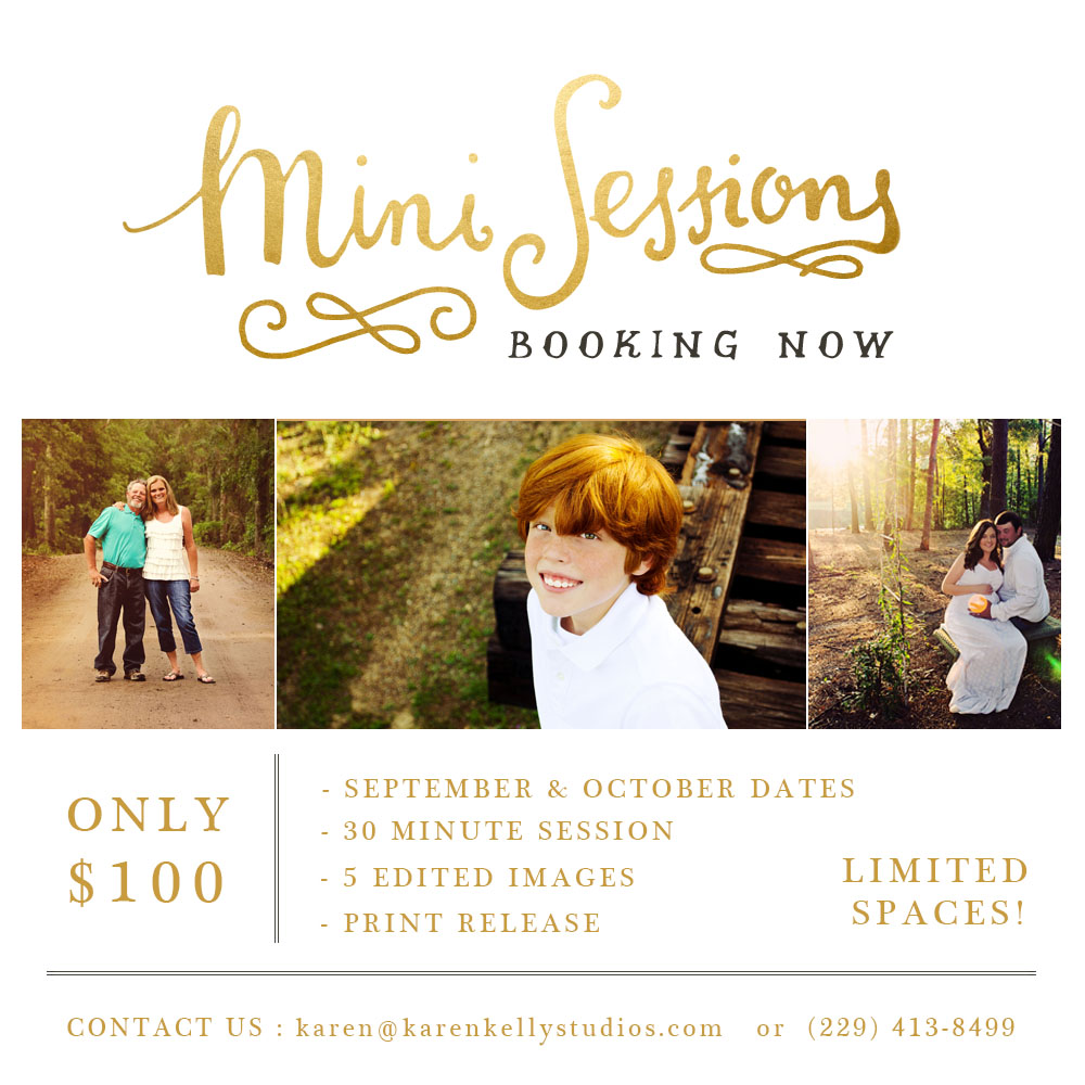 fall mini sessions 2014  - Karen Kelly Studios