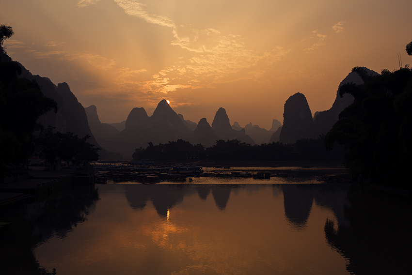 Lijiang river, Xingping, Guangxi Province, China