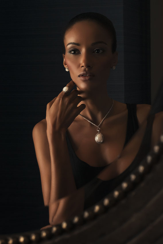 Jade jewelry advertising campaign shot in Shanghai China by photographer Raphael Olivier