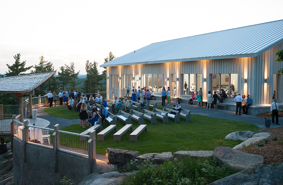Le Belvédère special events center, Wakefield, QC. Credit - Homesol Building Solutions