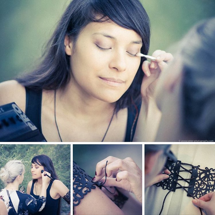 Making Of: Shooting Leather Accessories of http://www.tmas.at - #MUA Mirsada Brkic