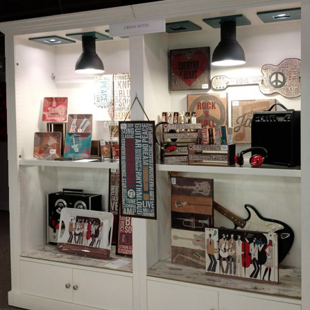 Photo from DEMDACO showroom, Atlanta Gift & Home Furnishings Market