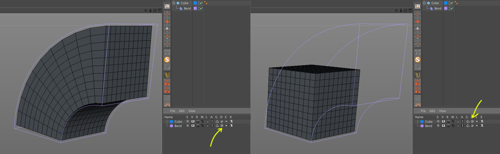 Layer Deformers