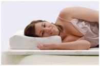 Natural and luxurious latex pillows are part of our extensive range of therapeutic products.