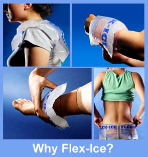 Flex Ice soft gel packs