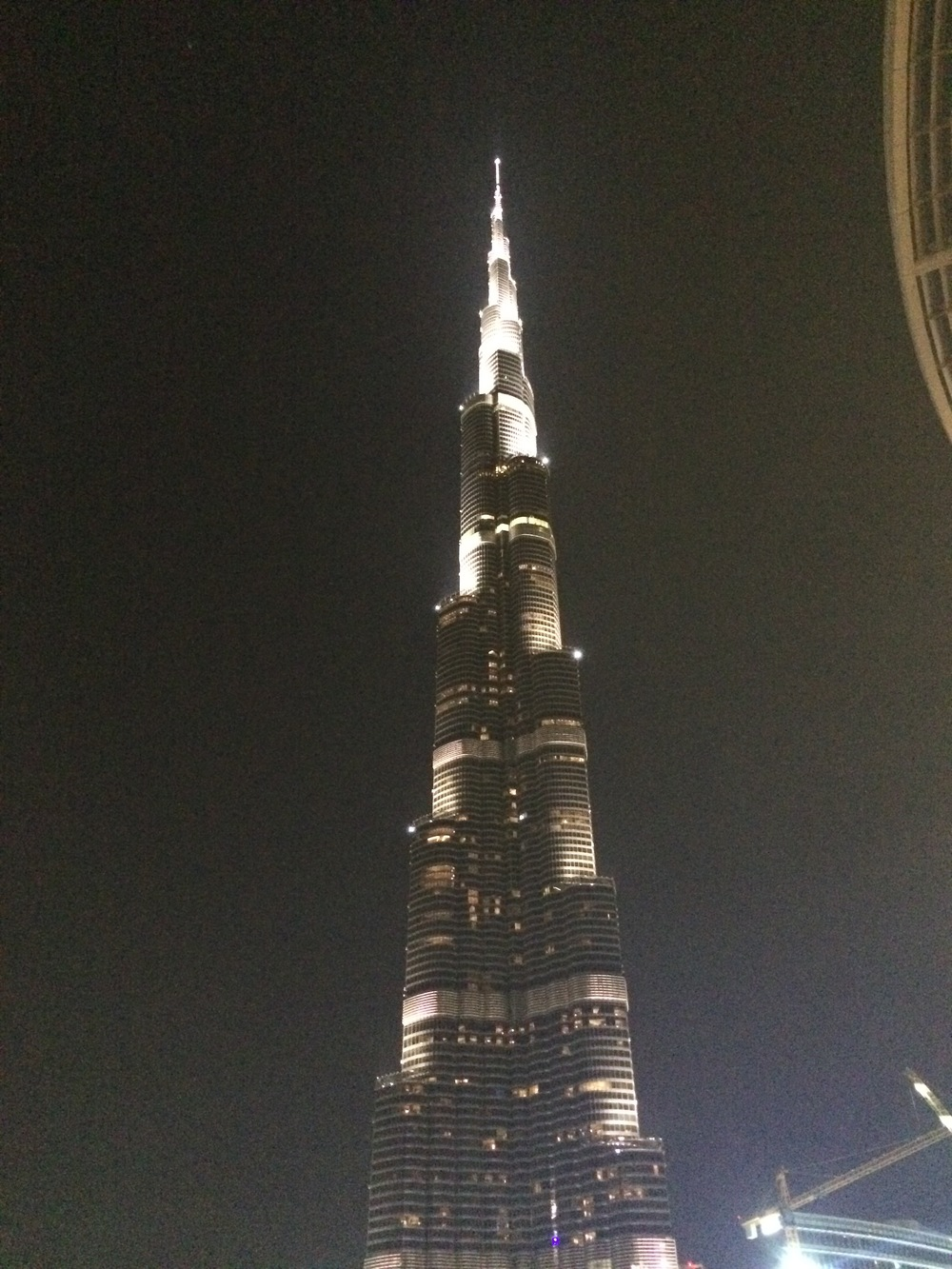 Just about half of one of the worlds tallest buildings.