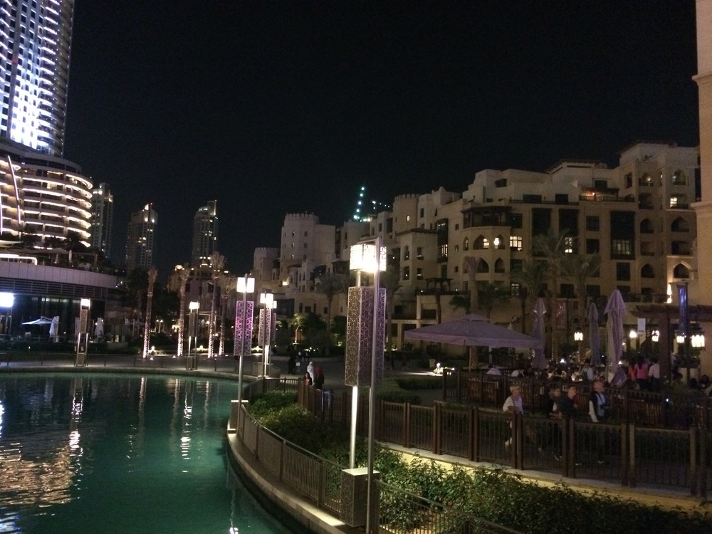A Souk near the Burj Khalifa