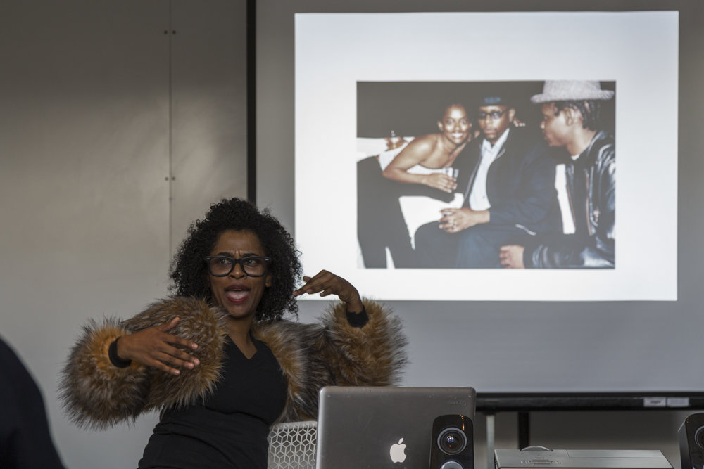 Who's Musing Who?:   An intimate dialog with Interdisciplinary Artist  Tameka Norris  discussing intellectual property, authorship, and socioeconomic status as it relates to personal legacy in a digital era.