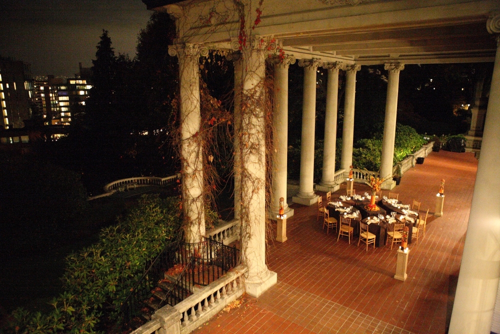 Dining Terrace of Hycroft Manor
