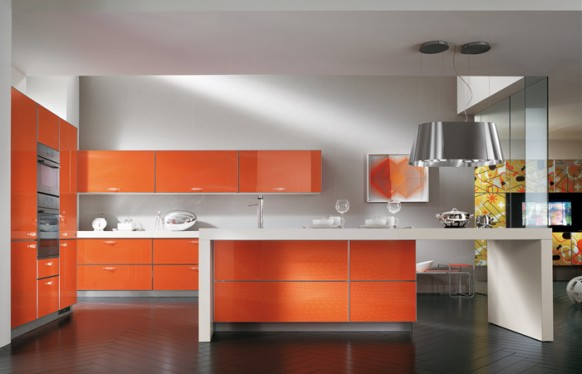 scavolini-Orange-Kitchen-herringbone-wood-tile-582x374.jpg