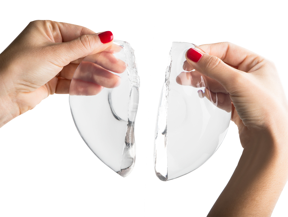 silicone gel breast implant photos don't