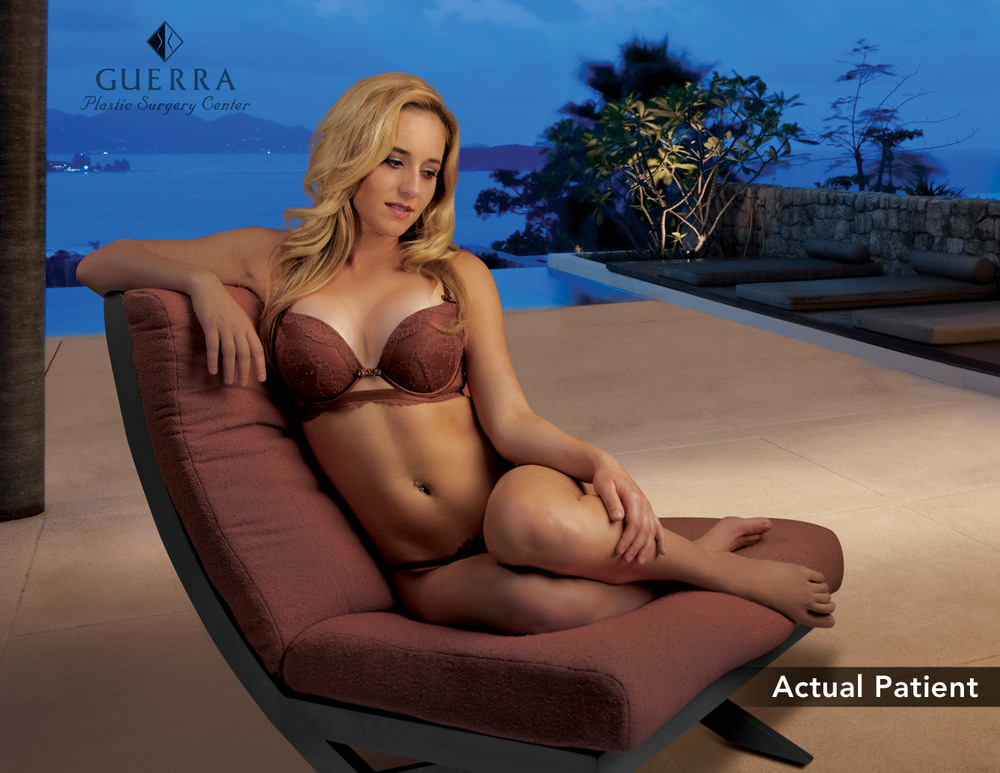 Actual Patient Breast Augmentation Sitting Chair