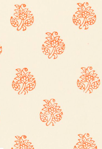 I am using this Schumacher wallpaper in my mudroom. I love this bright and cheery pattern.