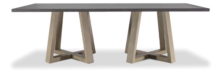 Another table with high style at a moderate price point. This table is sure to get noticed.