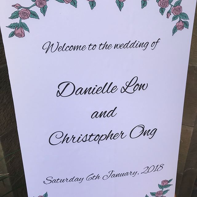 Congrats Chris & Dani!! #cd060118