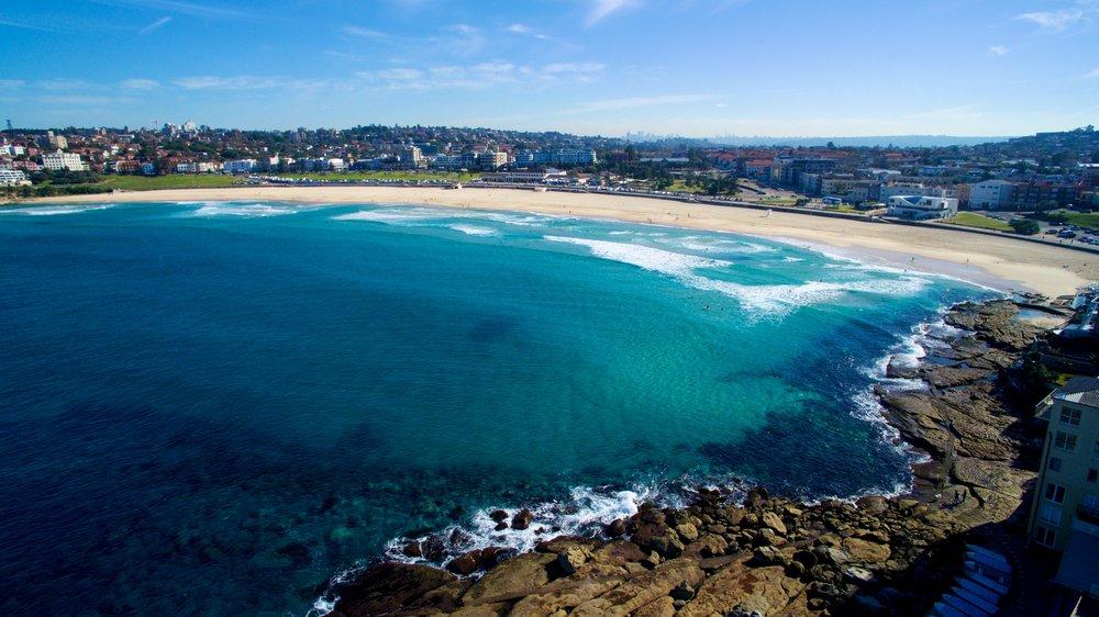 Title: Bondi Beach Breaks  Location: Bondi Beach, Sydney, Australia
