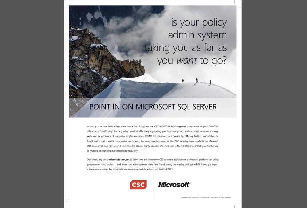 Microsoft / CSC Ad