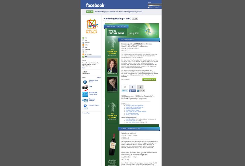 Microsoft WPC - Facebook Upgrade