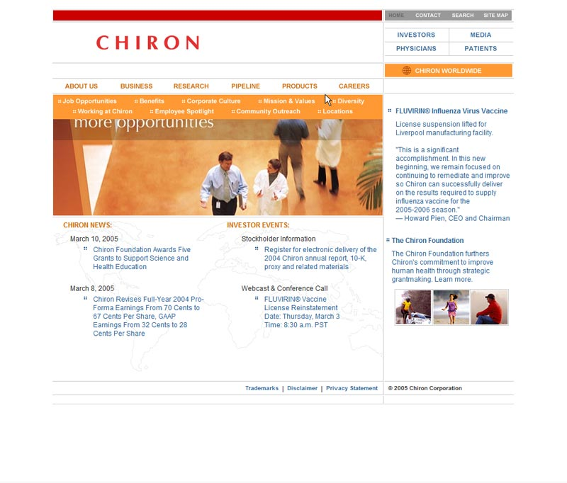 Chiron.com - Main Website