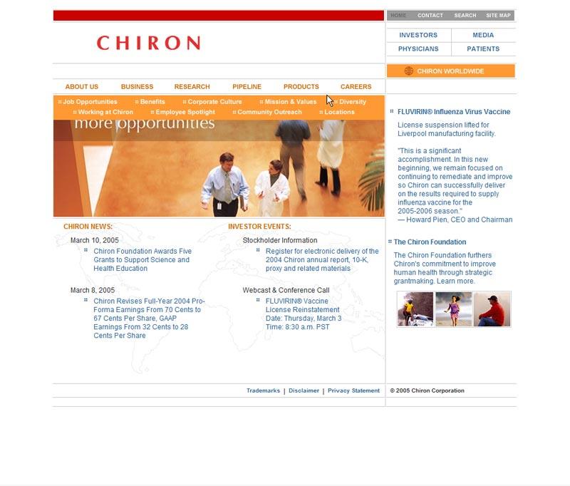 Chiron.com - Main Website