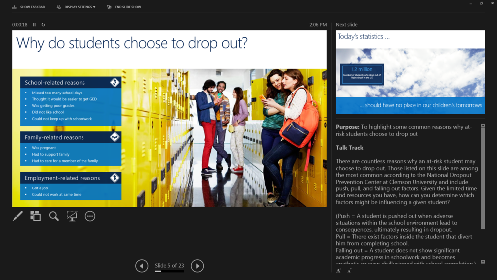 Microsoft Services - Education PowerPoint Deck