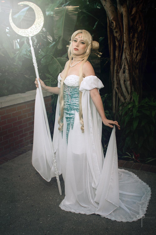 Mythical Princess Serenity - Sailor Moon - fan art by Valendra