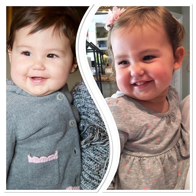 We had a special visit from the super adorable Miss Maisie the other day. Look how much she's grown in a year! Such a beautiful, sunny little love bug! 💜💜 #LitchfieldSpa #LitchfieldCT #LitchfieldCounty #CouldSheBeAnyCuter #LoveBug