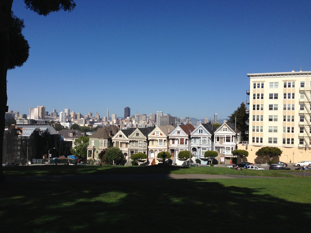Obligatory Full House shot on a gorgeous day. Alamo Square is just a few blocks from the new place, which I will eventually take pictures of if it's ever clean.