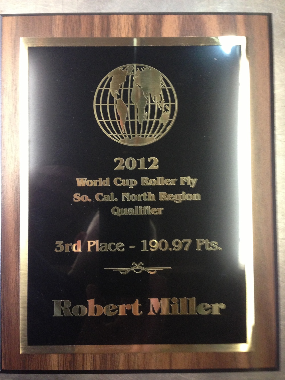 Placed 3rd in the LA area for the 2012 World Cup.