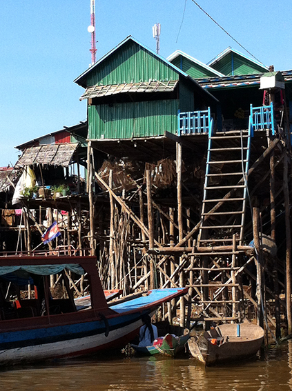 Kampong Phluk floating village, Tonle Sap lake, Siem Reap