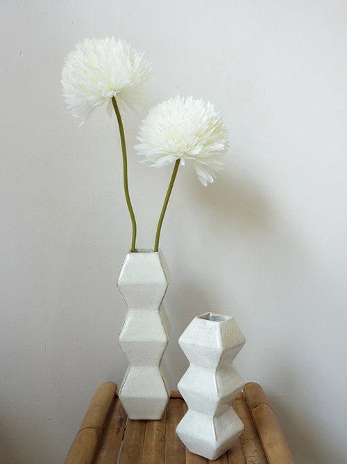 Vases Geometric Vase Collection Louise Loubatieres