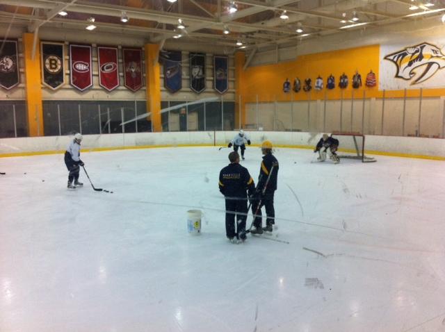 Preadators practice
