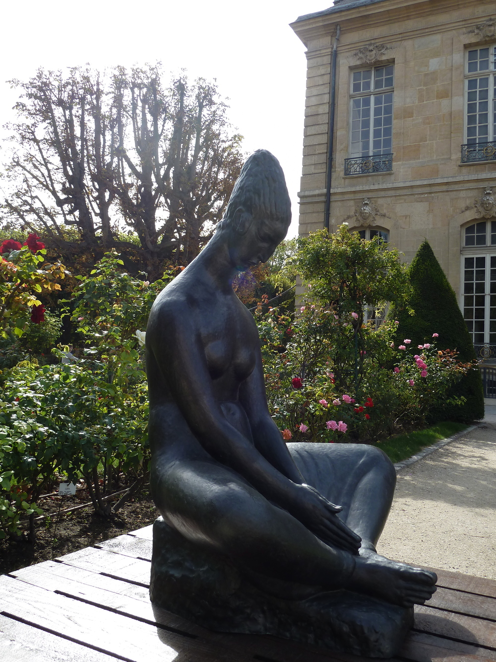 Rodin Museum Paris gardens