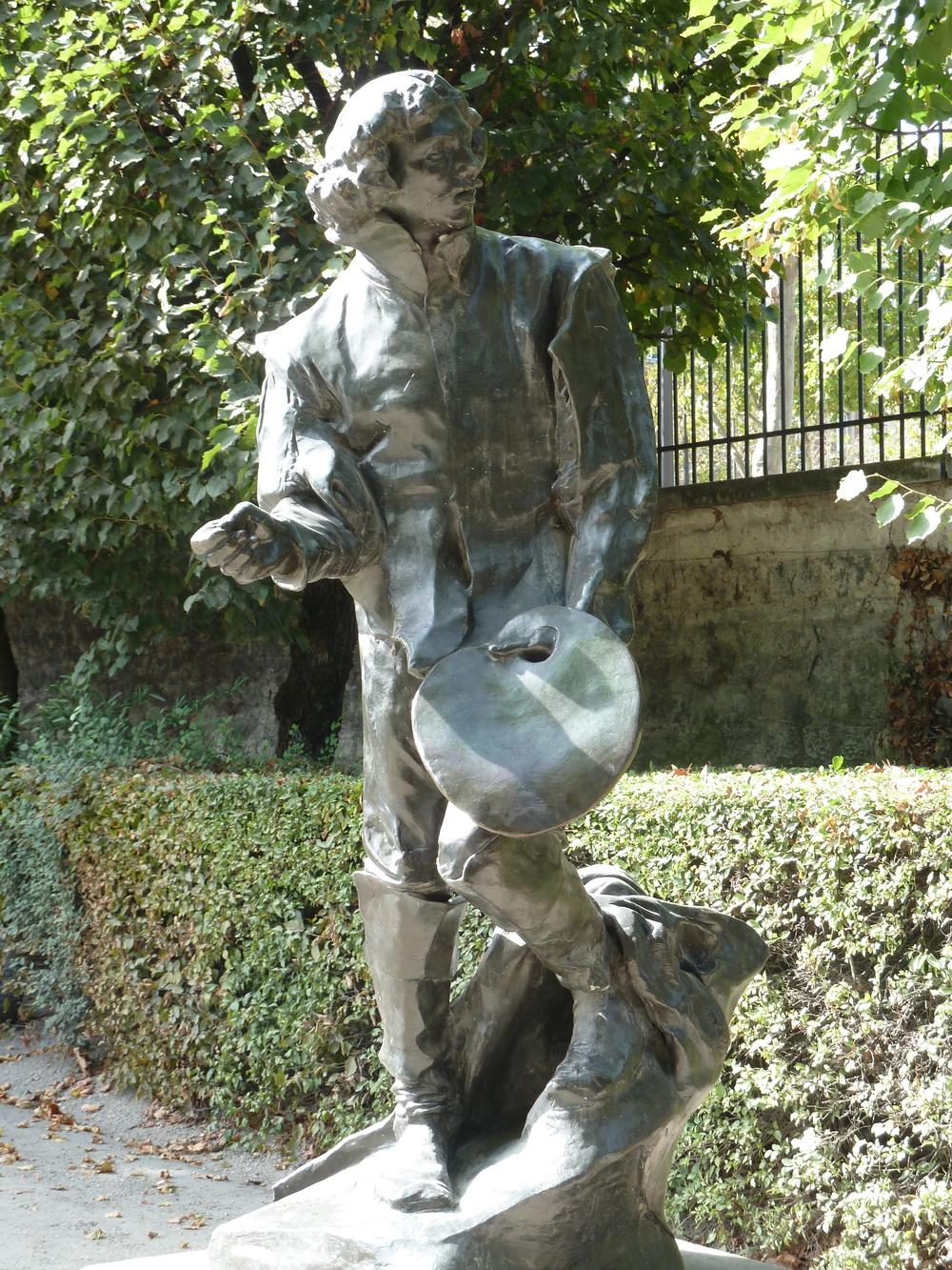 Rodin Museum painter