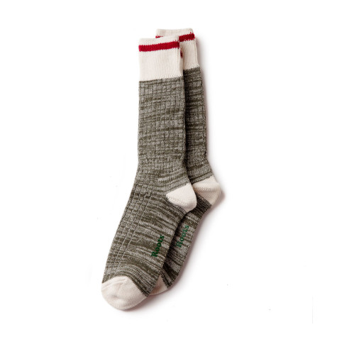 Always classic, the Roots Park Sock (2 for $18.50 CAD)