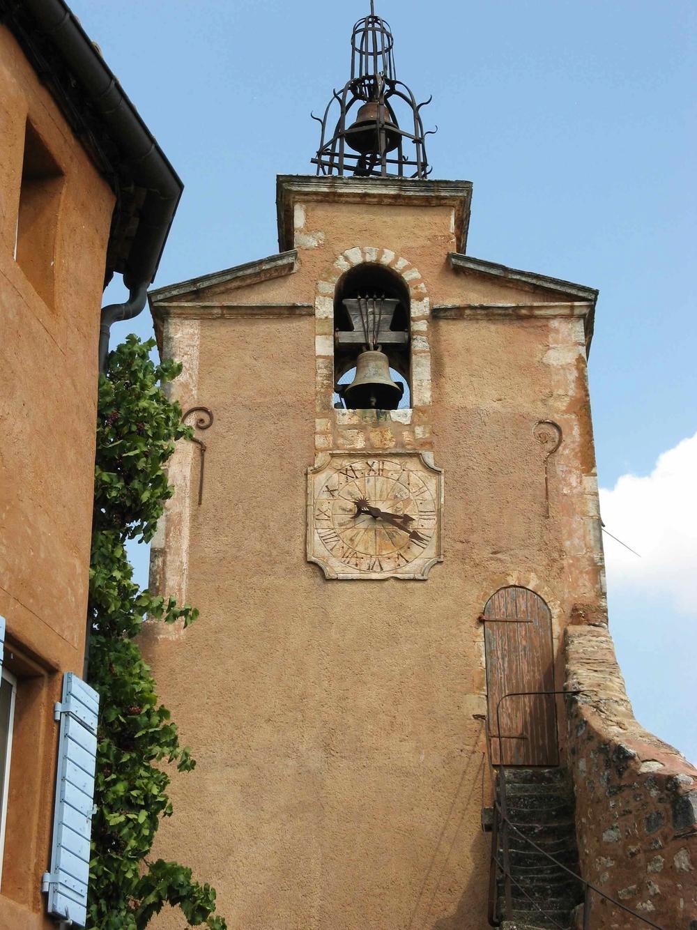 Rousillon Clock Provence