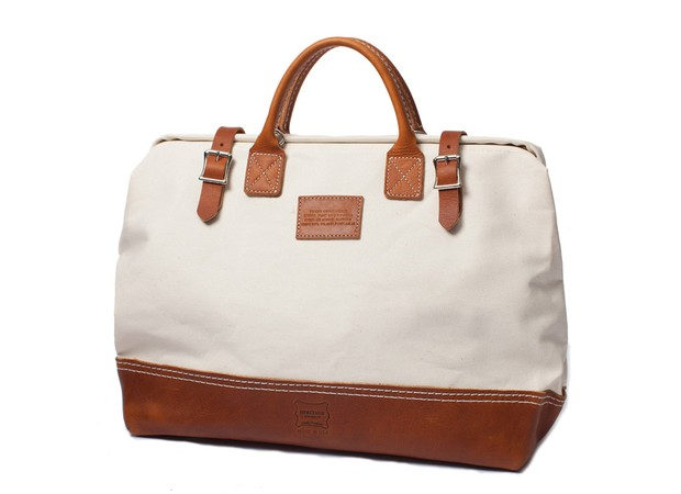Apolis | Heritage Leather + Apolis Mason Courier Bag | $228 USD