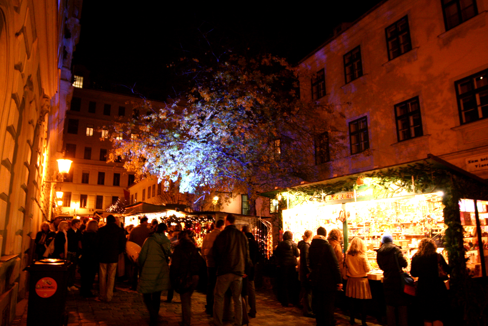 Spittelberg Christmas Market Photo credit: Lind