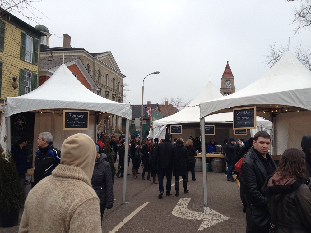 I think next year they should spruce the tents up a bit. They look kinda boring, no? My bar is high after researching Christmas markets in Europe.