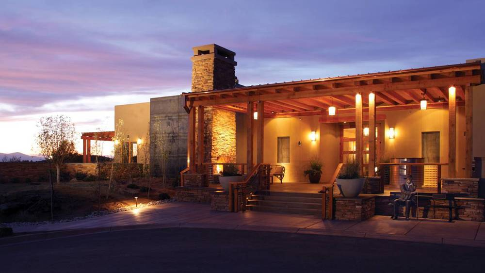 Exterior  of the  Four Seasons Resort Rancho Encantado