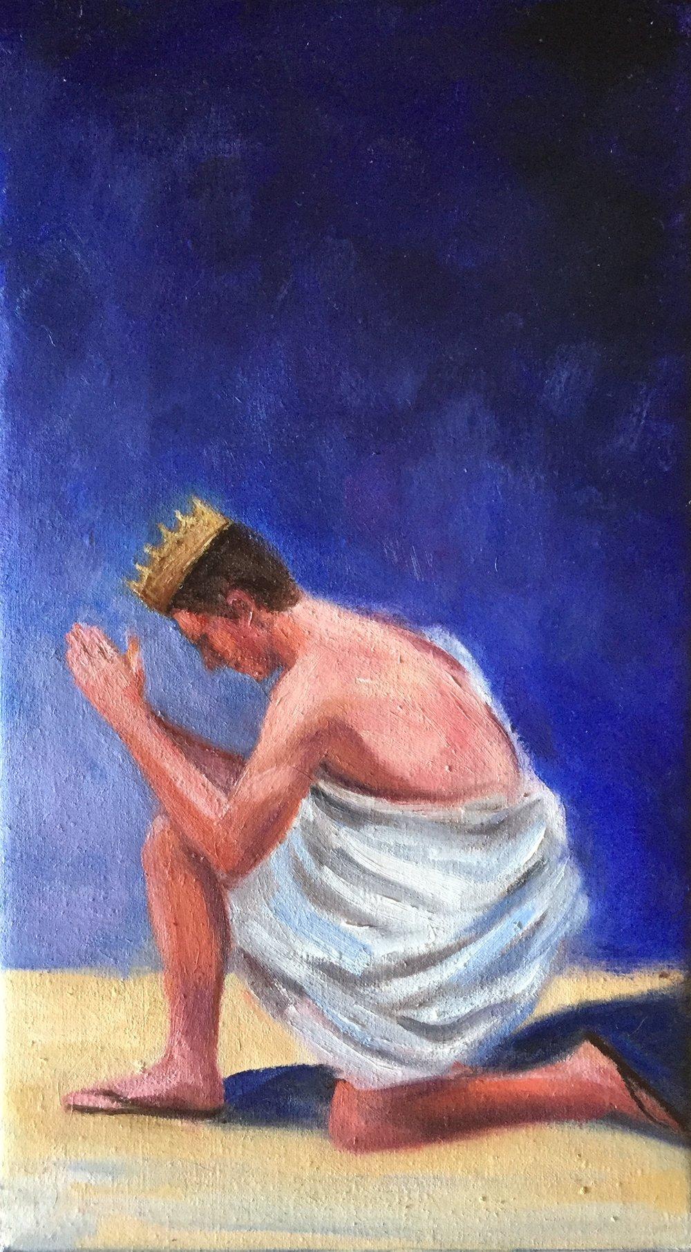 David Praying Cropped.JPG