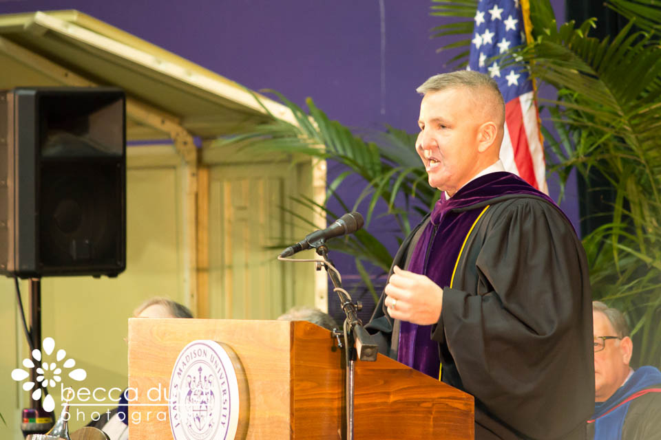 J ustin Constantine, JMU's December 2012  Commencement Speaker
