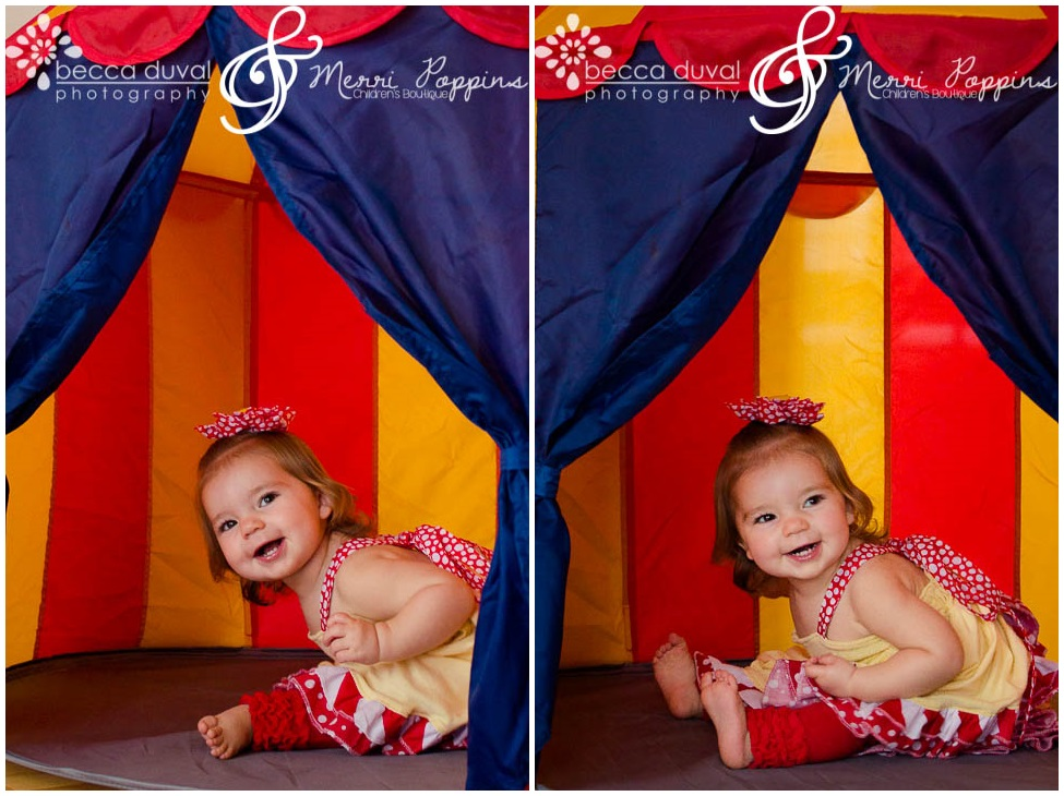 "Miss Stevie is modeling the ""Sophia"" Dress (6 months - 8 years). Seriously - don't miss the back of this dress, it's so cute I could just die!"